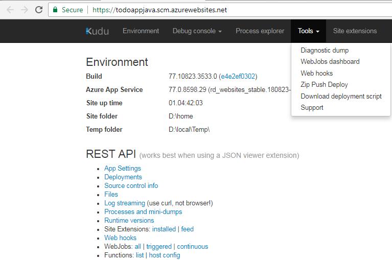 Using Kudu to Manage Azure Web Apps | GS Lab
